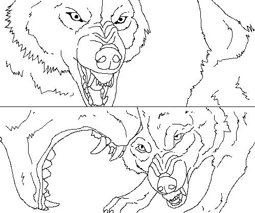 wolves talking base by WhiteWolfCrisis13