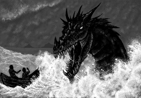 The Dragon of the Sea by TheSodaSmuggler