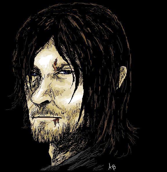 Daryl Dixon by WhiteWolfCrisis13