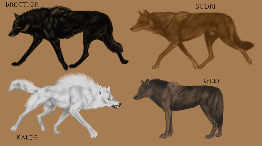 dire wolf subspecies by thesodasmuggler on deviantart