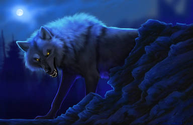 The Beast of the Night by TheSodaSmuggler
