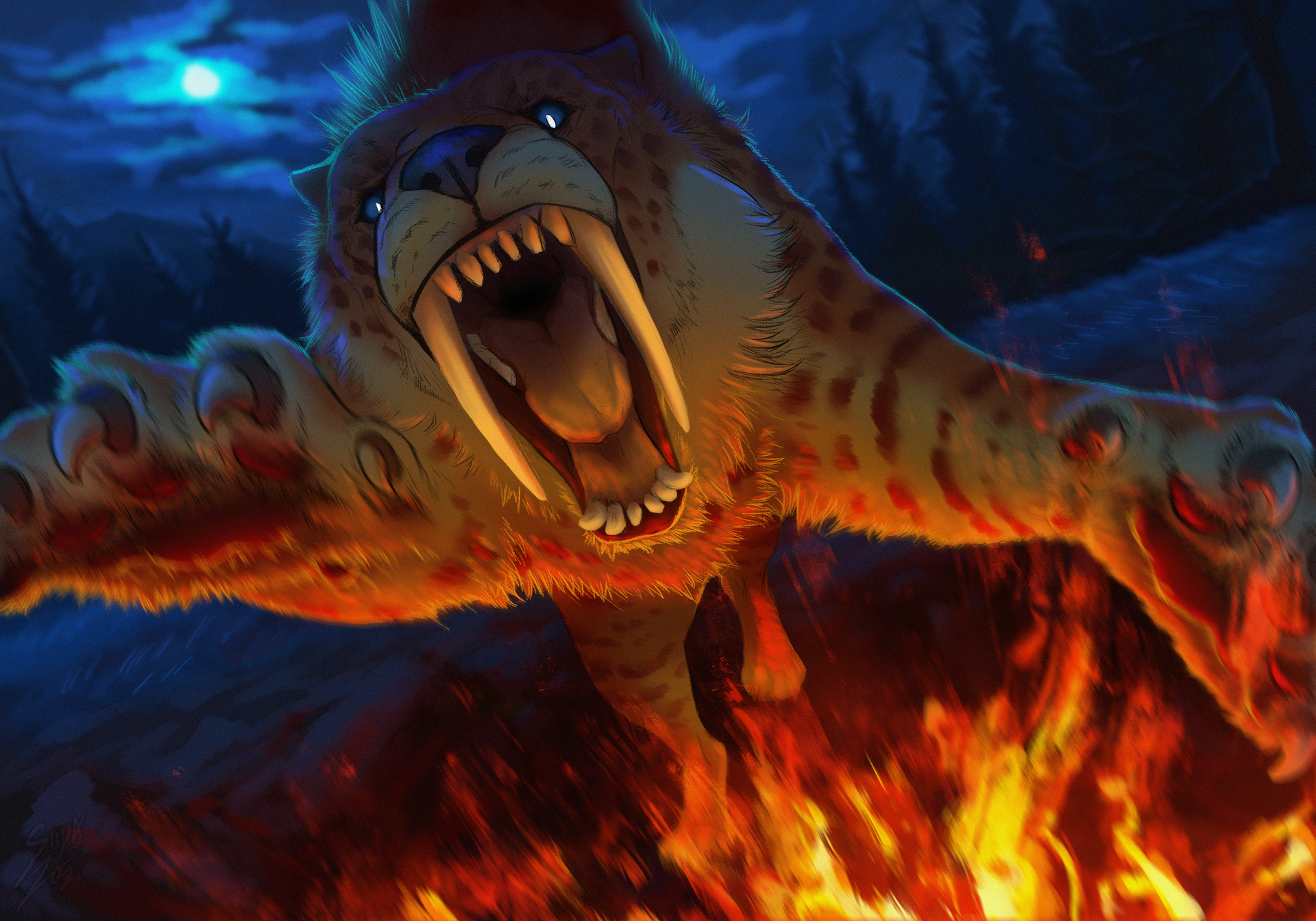 The Roaring Flames
