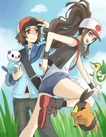 Pokemon Black and White by gladyfaith