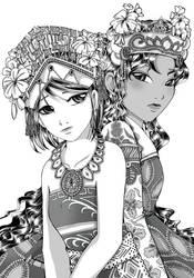 +v+Acarya+Little Maiden by vanitachi