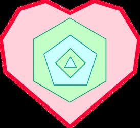 Polygonal Heart's Cutie Mark