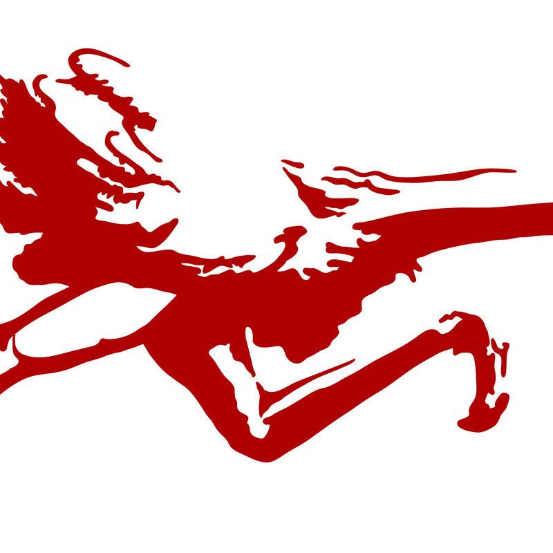 ostrich logo by Psychicbard