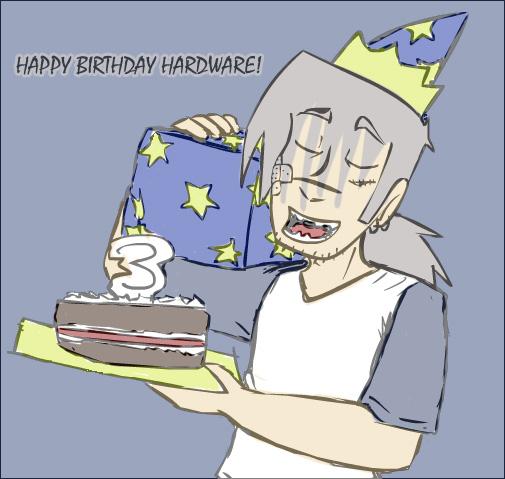3rd Birthday by Reapinginprogress