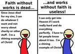 On Works and Faith