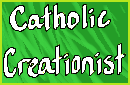 Catholic Creationist Stamp by PieWriter