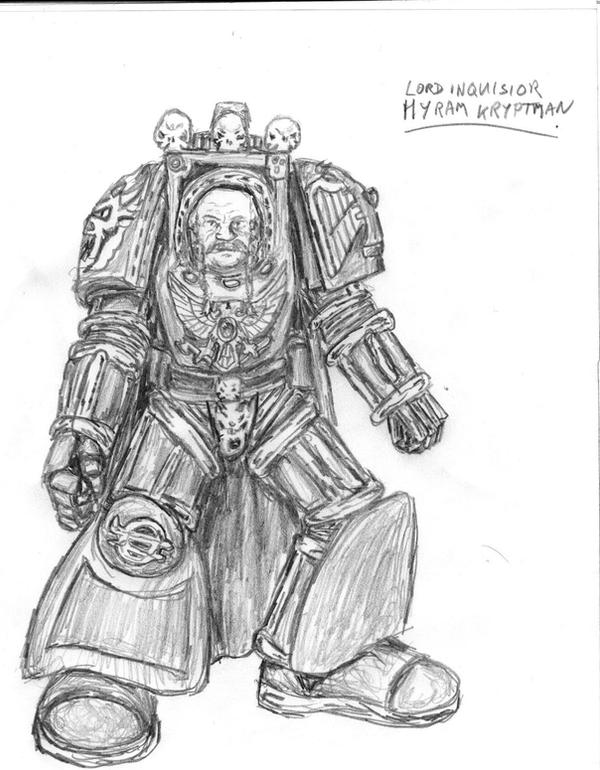 Inquisitor Lord Kryptman by lilac-lemur