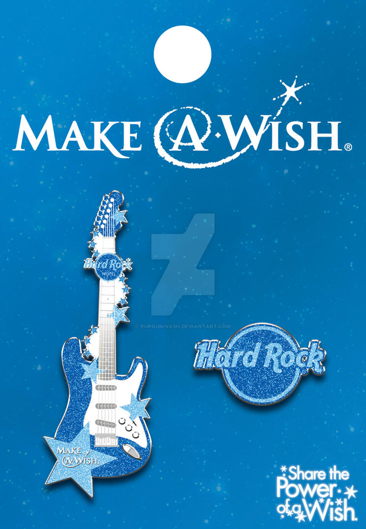 Make-A-Wish Foundation Hard Rock Hotel Pin by RurouniVash