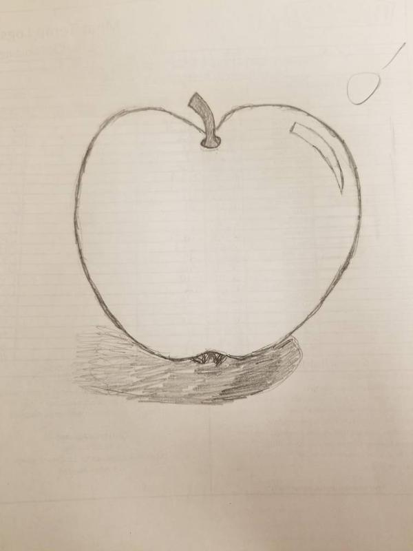 Apple by asantedaace