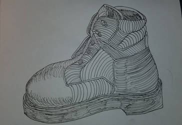 Wolverine Workers Boot by asantedaace