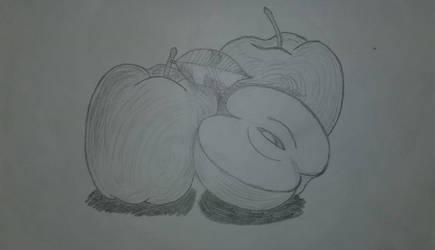 A Few Apples by asantedaace