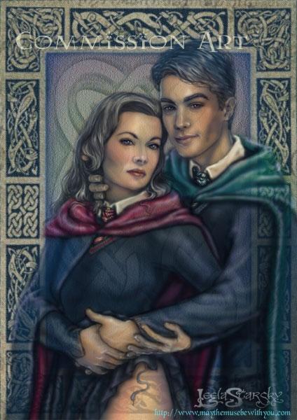 Tom and Minerva by leelastarsky