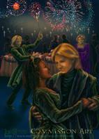 Fred and Angelina's Wedding by leelastarsky