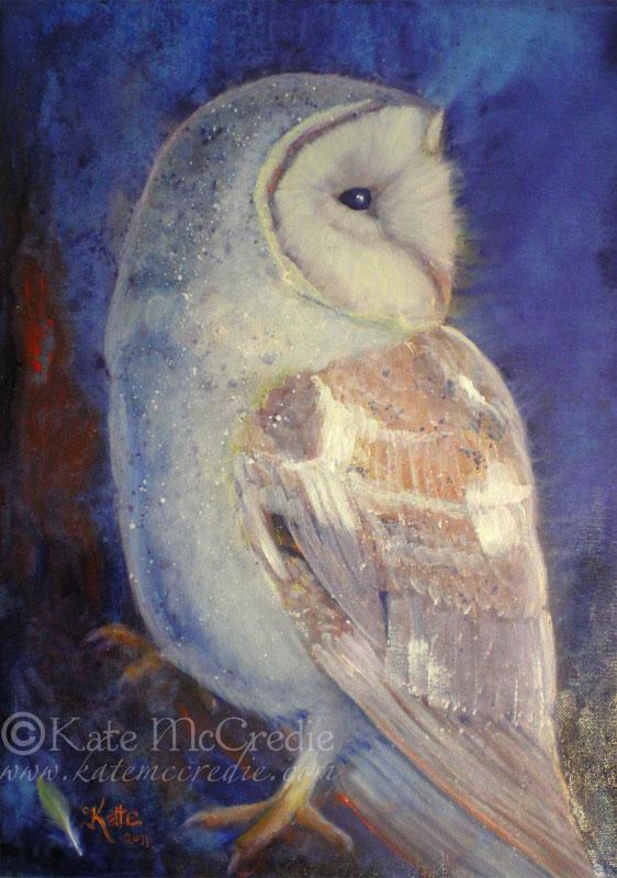 Barn Owl. by leelastarsky