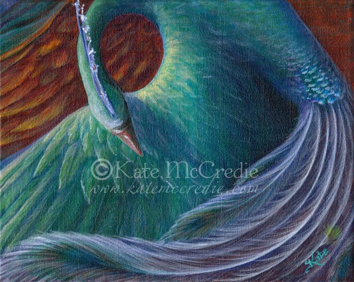 Silver Phoenix by leelastarsky