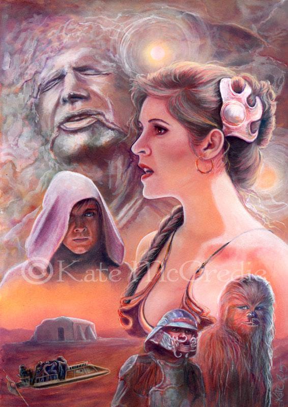 Tatooine by leelastarsky