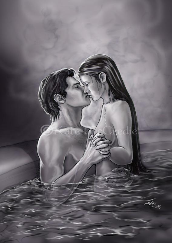 Han and Leia spa. by leelastarsky