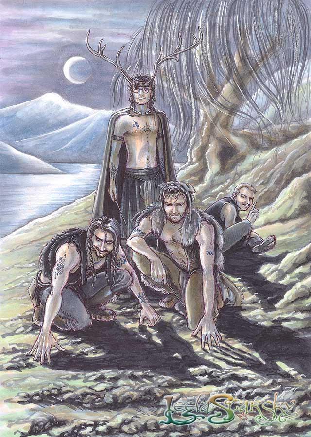 Celtic Marauders by leelastarsky