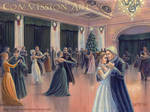 A Yule Ball at Malfoy Manor