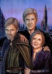 Older Star Wars Trio