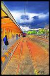 railway station HDR by emrepullukcu