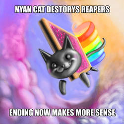 MASS EFFECT NYAN CAT by derlich