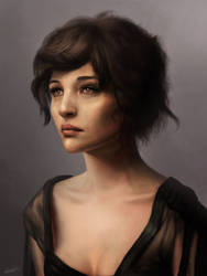 Female portrait by Matija5850