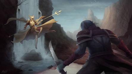 Fight by Matija5850