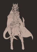 Dragon lady lines by Matija5850