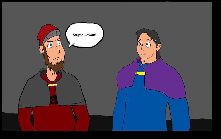 Stupid Jowan by Doodle-3G
