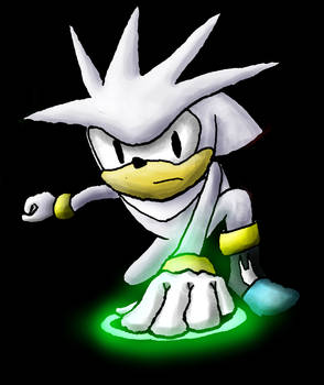 Silver the Hedgehog commission