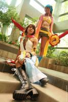 Final Fantasy X-2: YuRi by Ai-rika