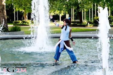 The Legend of Korra: Waterbending by Ai-rika