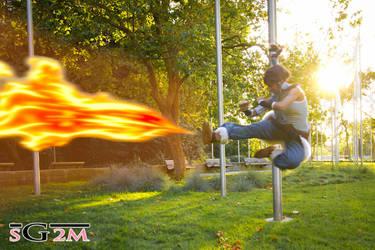 The Legend of Korra: Firebending by Ai-rika