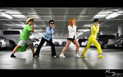 Gangnam Style by Ai-rika