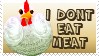 I dont eat meat by Batzy