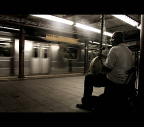 New York's waiting area