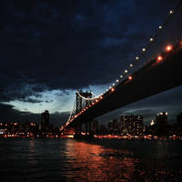 New York at dusk by CatchMe-22