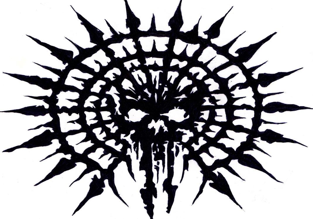 Chaos Symbol With Skull | www.pixshark.com - Images ...
