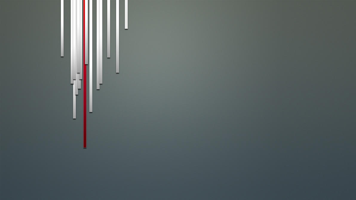 Simplistic design wallpaper by ThusWeEnd on DeviantArt