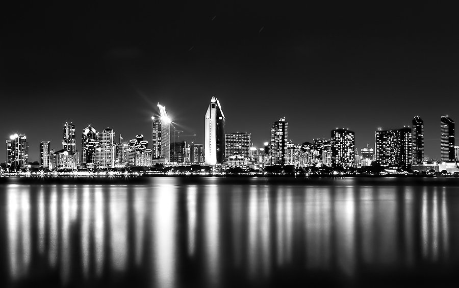 City of black and white by jordan roberts