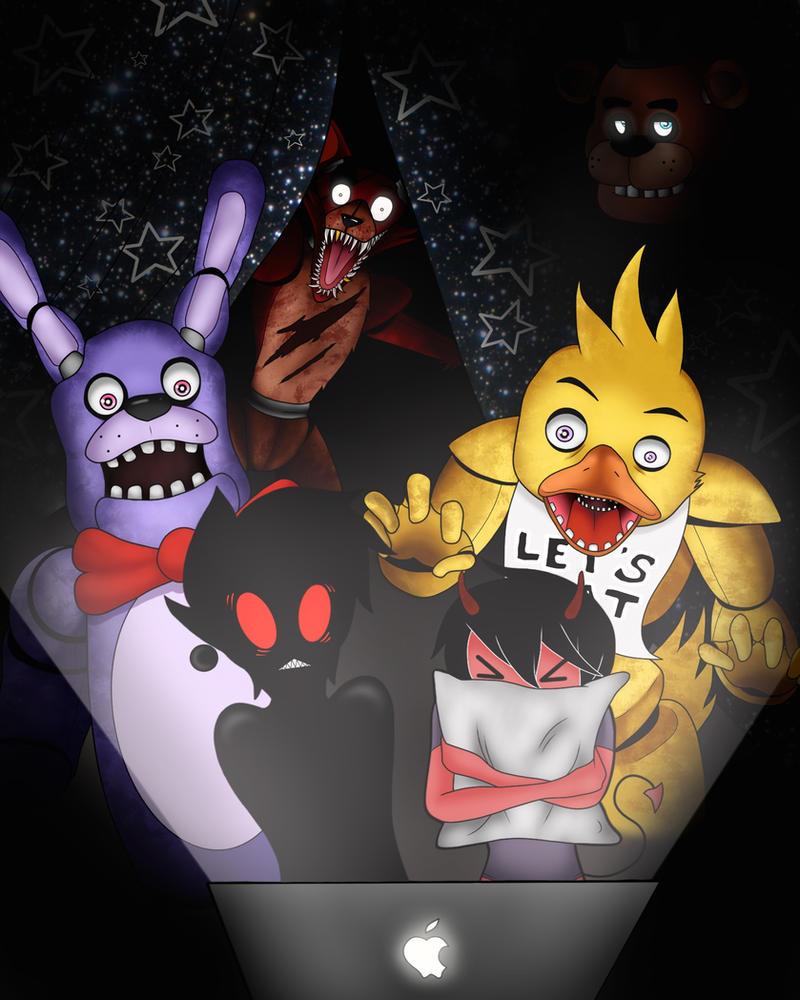 Dark and Klawd Play: Five Nights at Freddy's by MrDark510