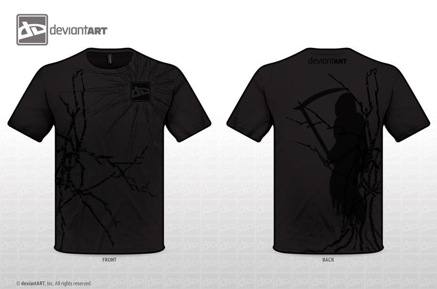 Grim Reaper T-Shirt Design by ShadowScythe7