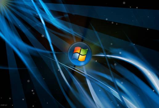 Deep Blue Windows 7 Wallpaper