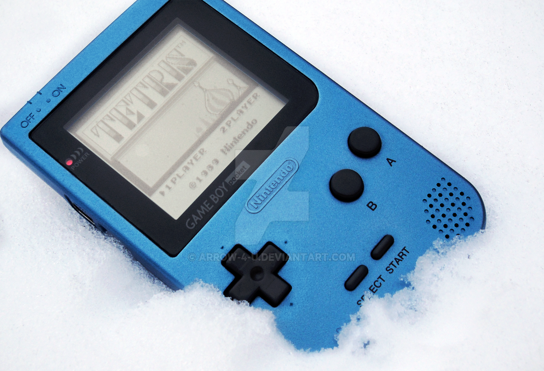 Game Boy Pocket Ice Blue Edition photo 1#