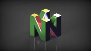 Metallic N64 Logo by ArRoW-4-U