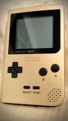 Gameboy Pocket Gold